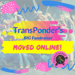 fundraiser logo with image of group photo