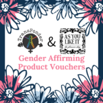 Flower frame with AYLI and TransPonder logos.