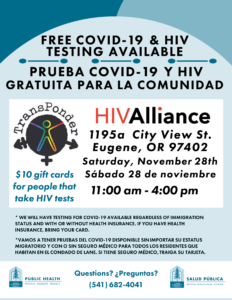 flyer, information provided in text